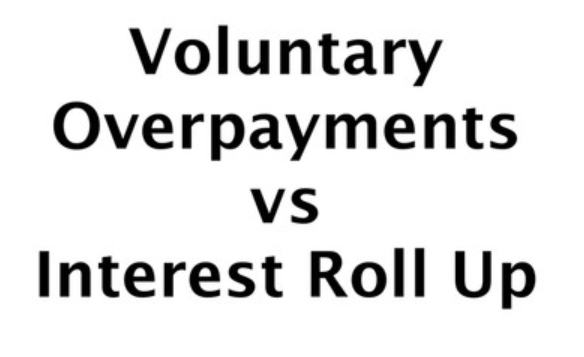 Voluntary Payments Equity Release Age